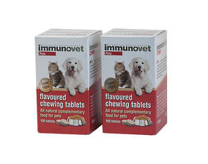 Immunovet Tablets Special 2 for $140 NZ orders only during this time sorry - unable to send to Australia